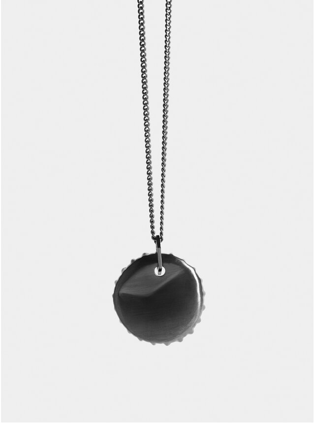 Ruthenium Bottle Top Pendant