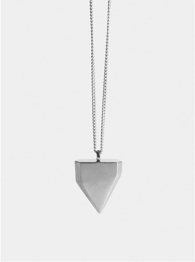 Silver Shark Tooth Pendant