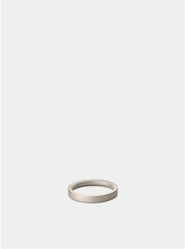 Matte Silver M4 Bancroft Silver Ring