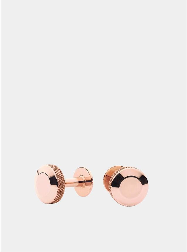 Olive Rose Gold Cufflinks