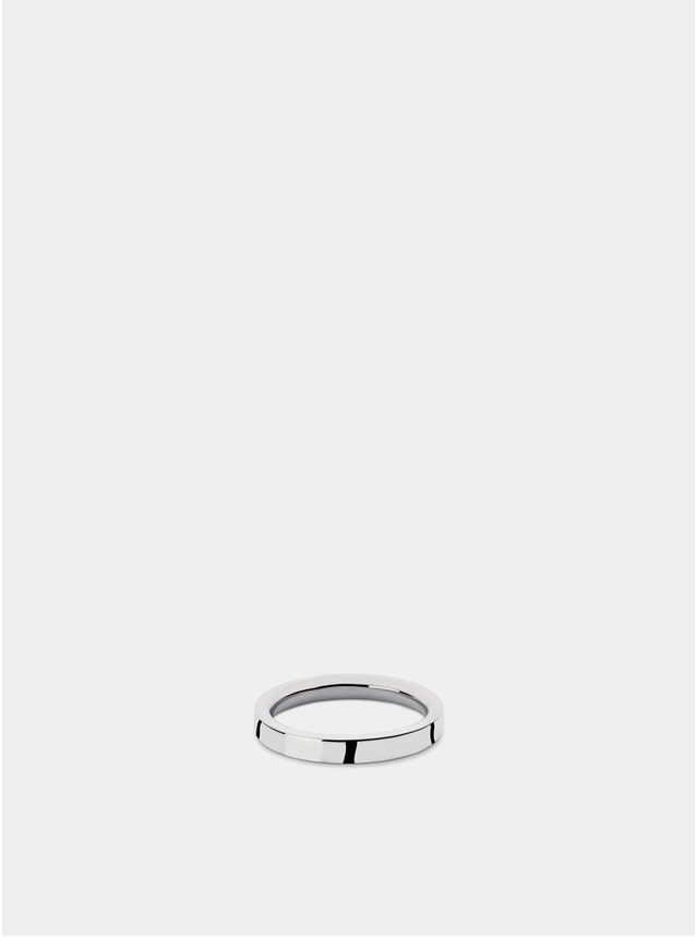 Silver Ring P4 Bancroft Polished Silver Ring