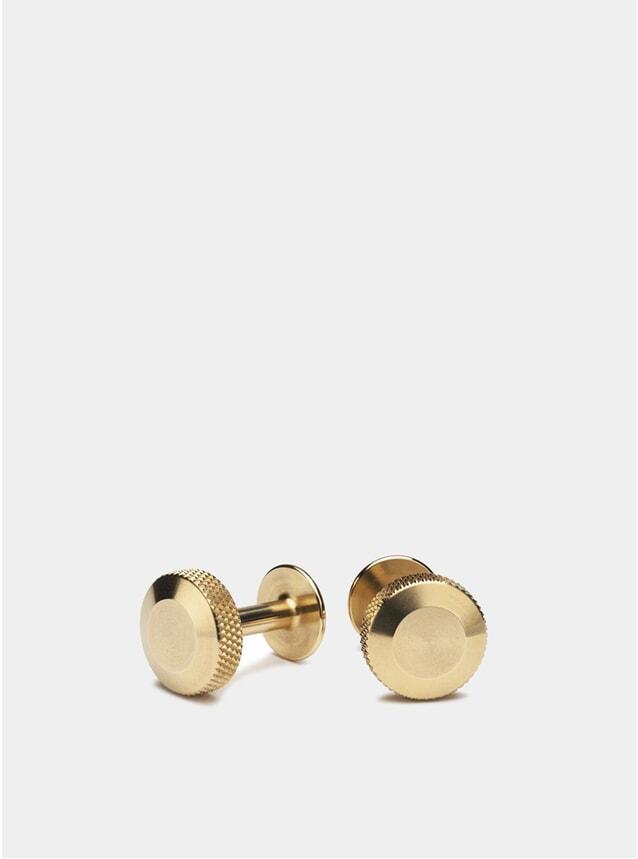 Brass Oliver Cufflinks
