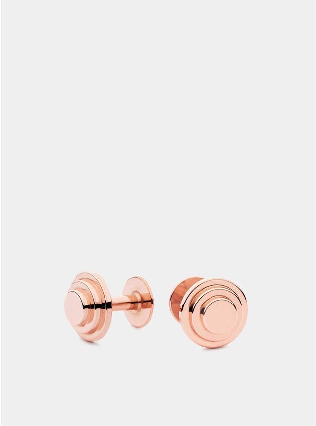 Rose Gold Jasper Cufflinks