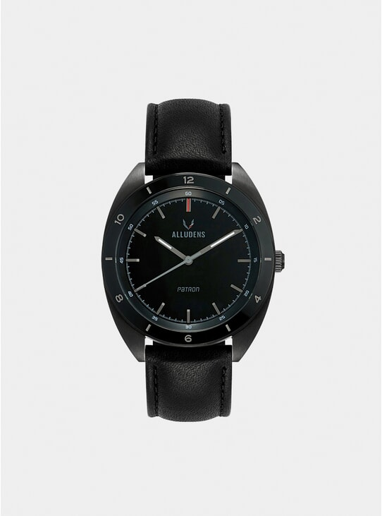 Patron Graphite X Leather Watch
