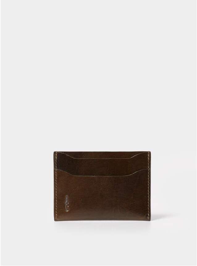 Olive Pete Leather Card Holder