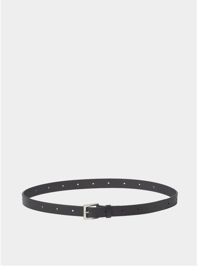 Black Arty Leather Belt
