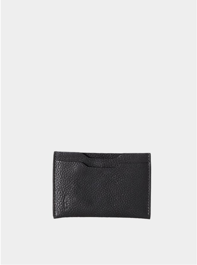 Black Pete Leather Card Holder