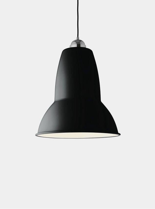 Jet Black Original 1227 Giant Pendant