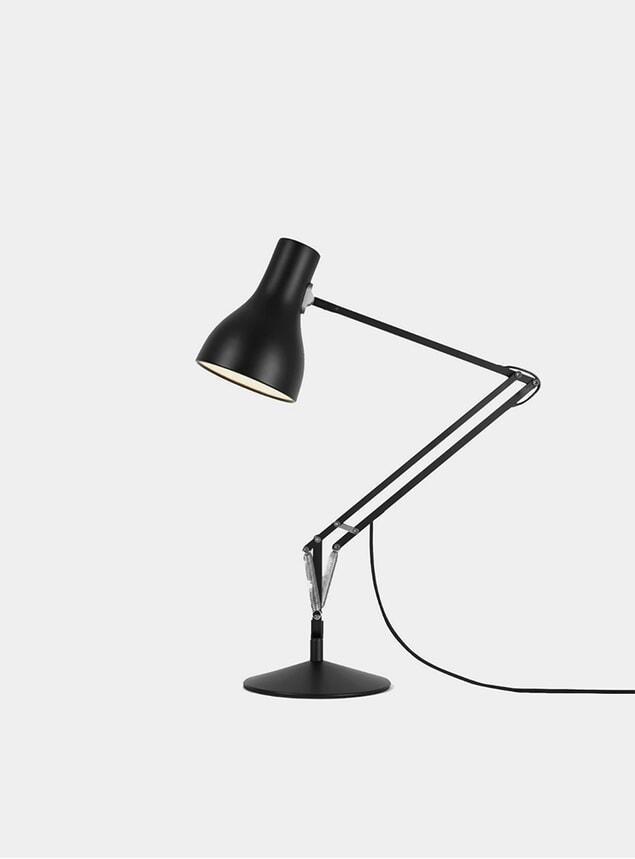 Jet Black Type 75 Desk Lamp