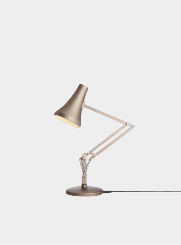 Warm Silver & Blush 90 Mini Mini Desk Lamp