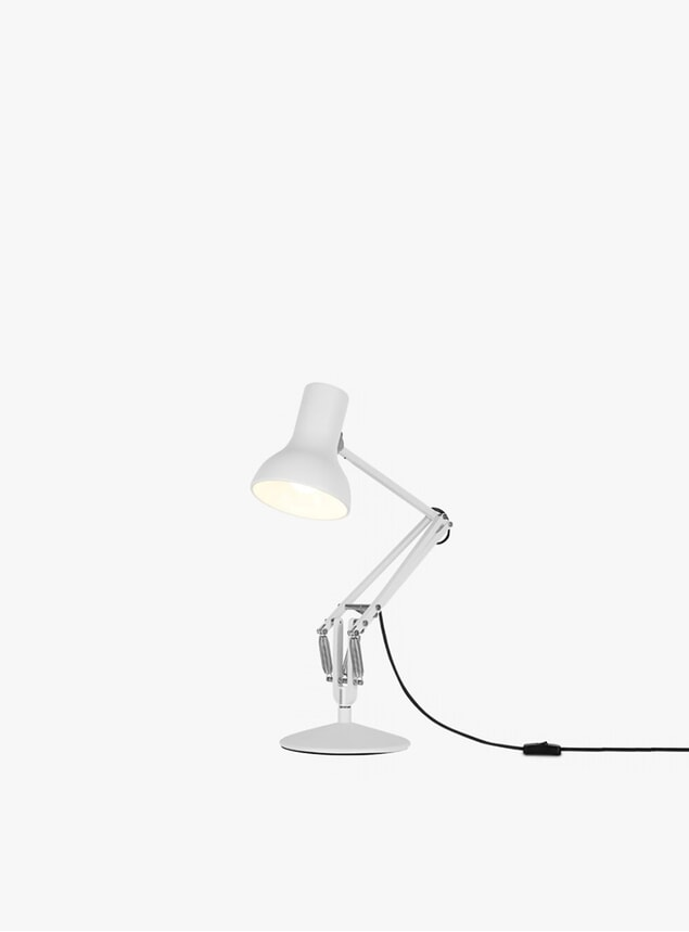 Alpine White Mini Type 75 Desk Lamp