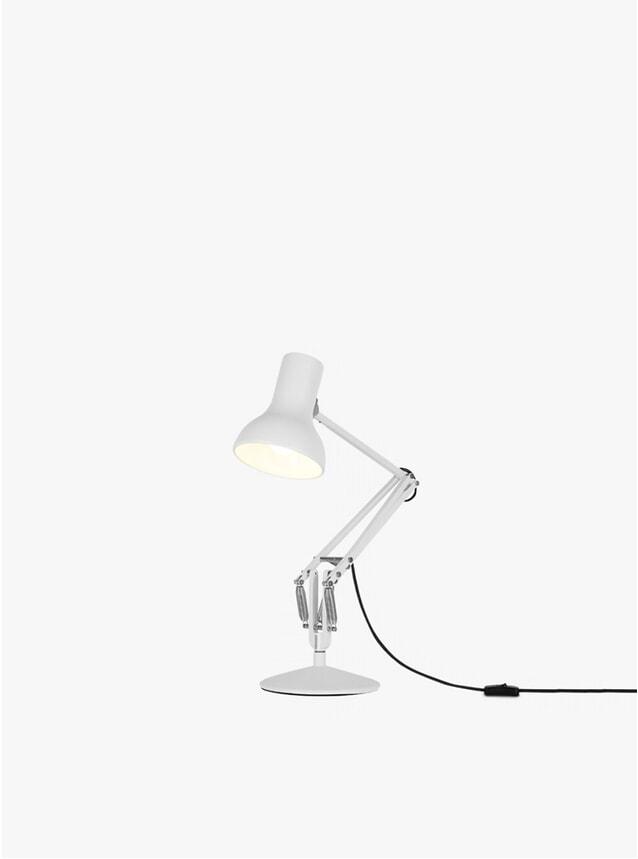 Alpine White Mini Type 75 Desk Lamp