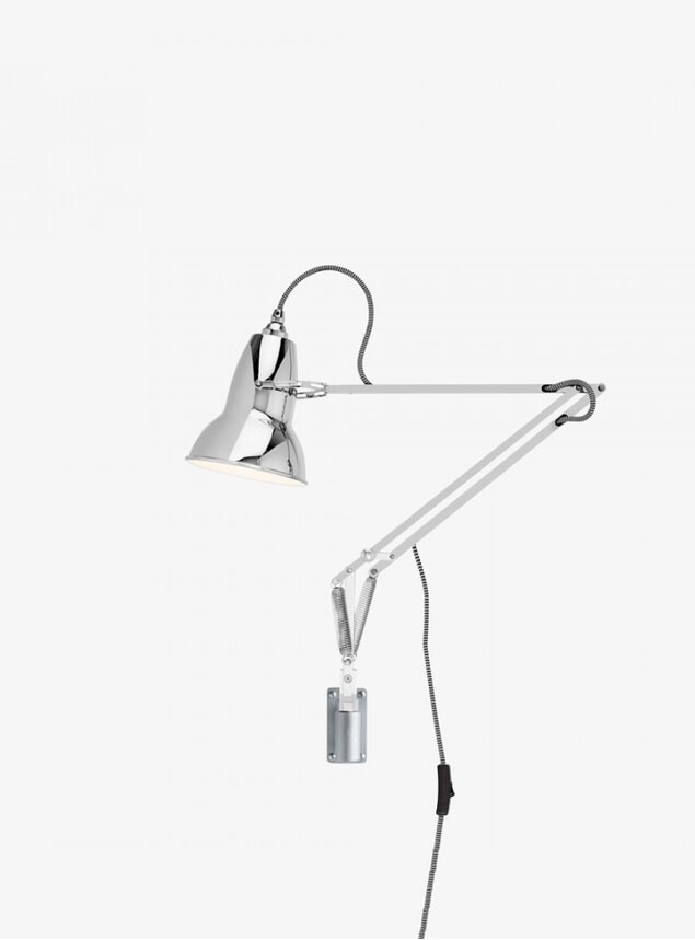 Chrome Original 1227 Wall Mounted Lamp