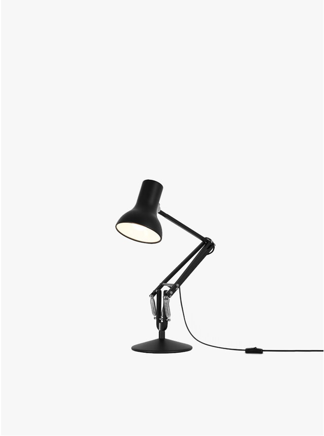 Jet Black Mini Type 75 Desk Lamp