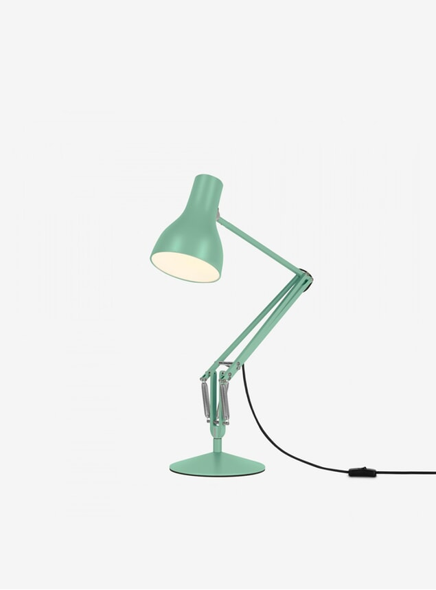 Seagrass MHL X Angelpoise Type 75 Desk Lamp