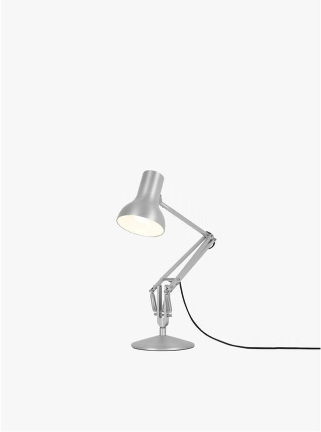 Silver Lustre 75 Mini Metallic Lamp