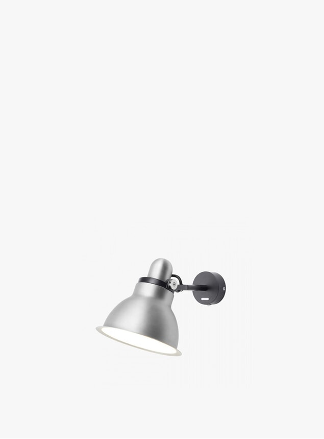 Silver Lustre type 1228 Metallic Wall Light