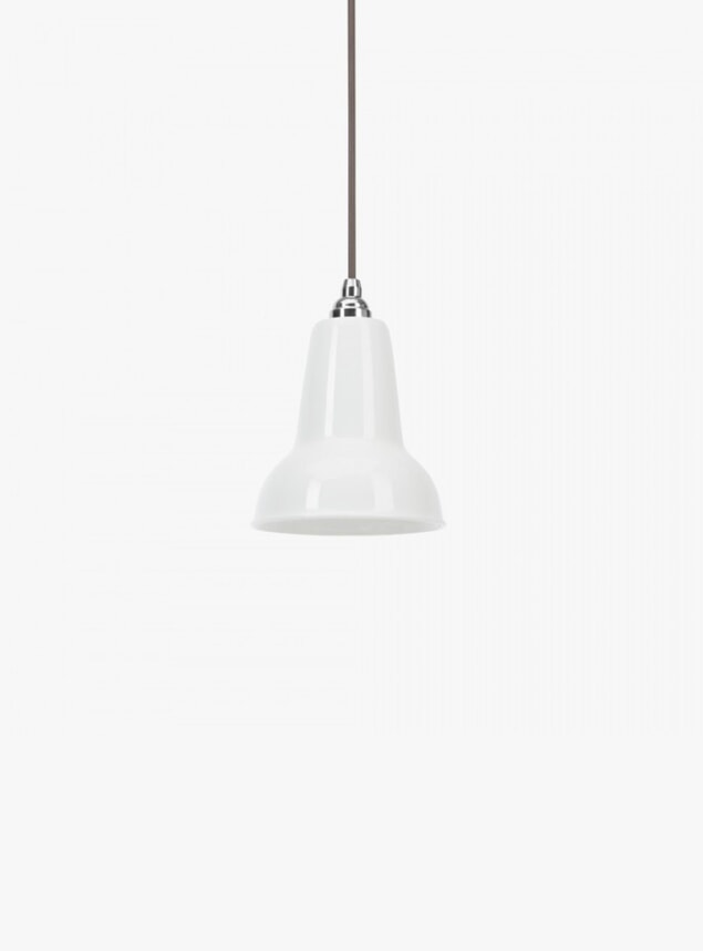 White Ceramic 1227 Mini Pendant Light