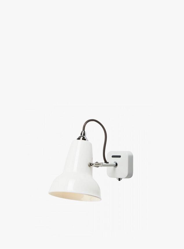 White Ceramic 1227 Mini Wall Light