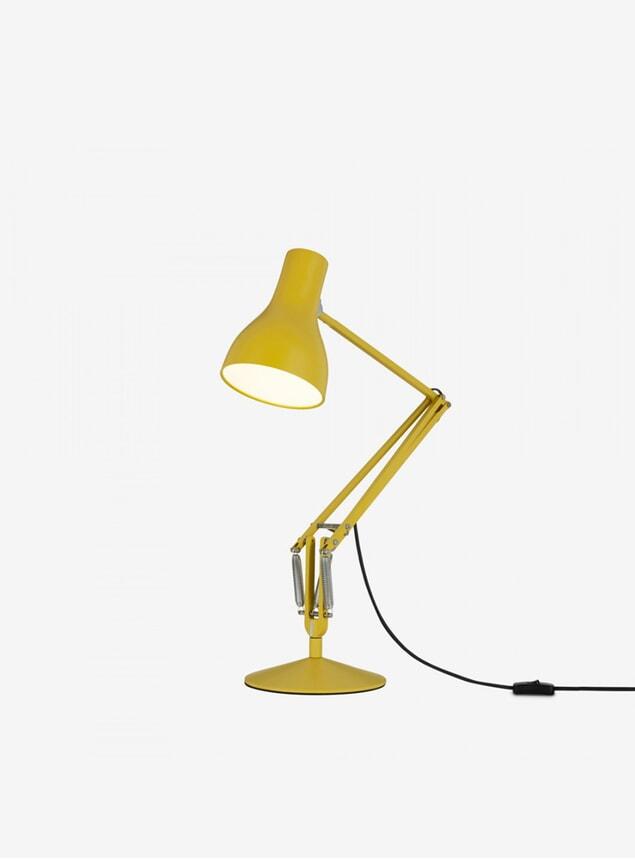 Yellow Ochre MHL X Angelpoise Type 75 Desk Lamp