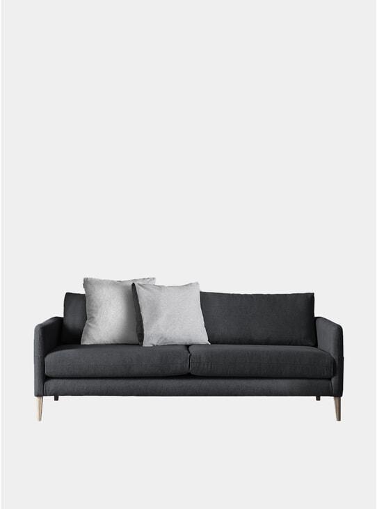 Charcoal Ampia 3 Seater Sofa