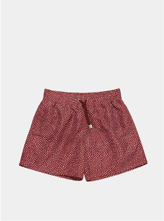Dark Red Abysses Swim Shorts