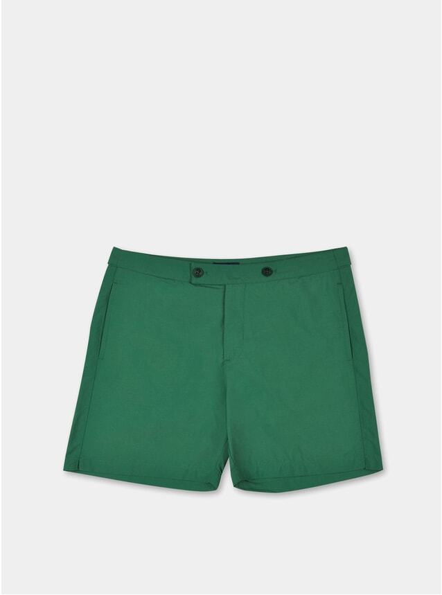 Green Enzo Swim Shorts