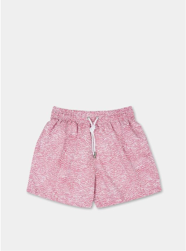Pink Ecailles Swim Shorts
