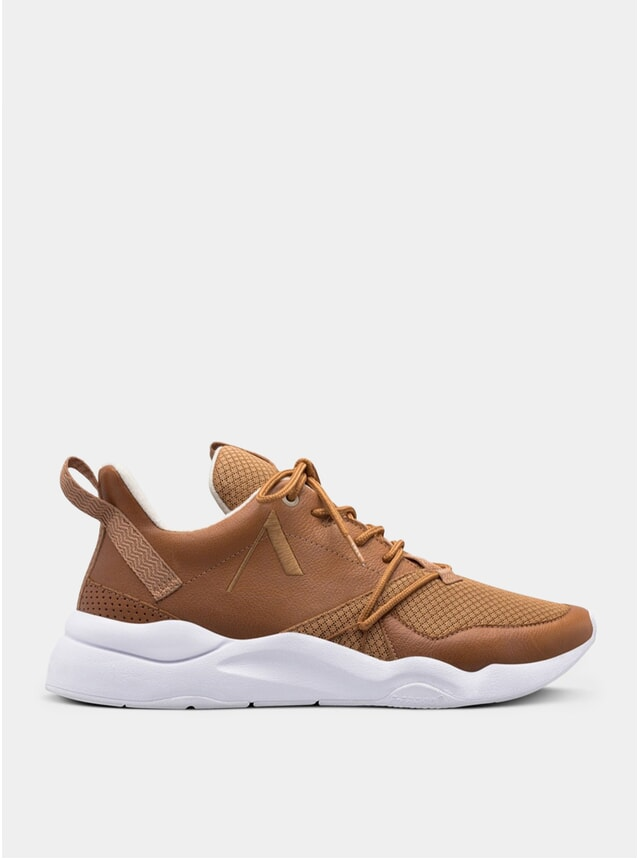 Camel Sandshell Asymtrix Mesh F-Pro90 Sneakers