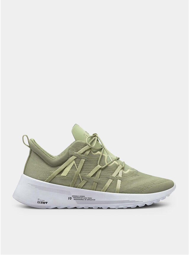 Moss Grey Velcalite Cm Pwr55 Tapioca Sneakers