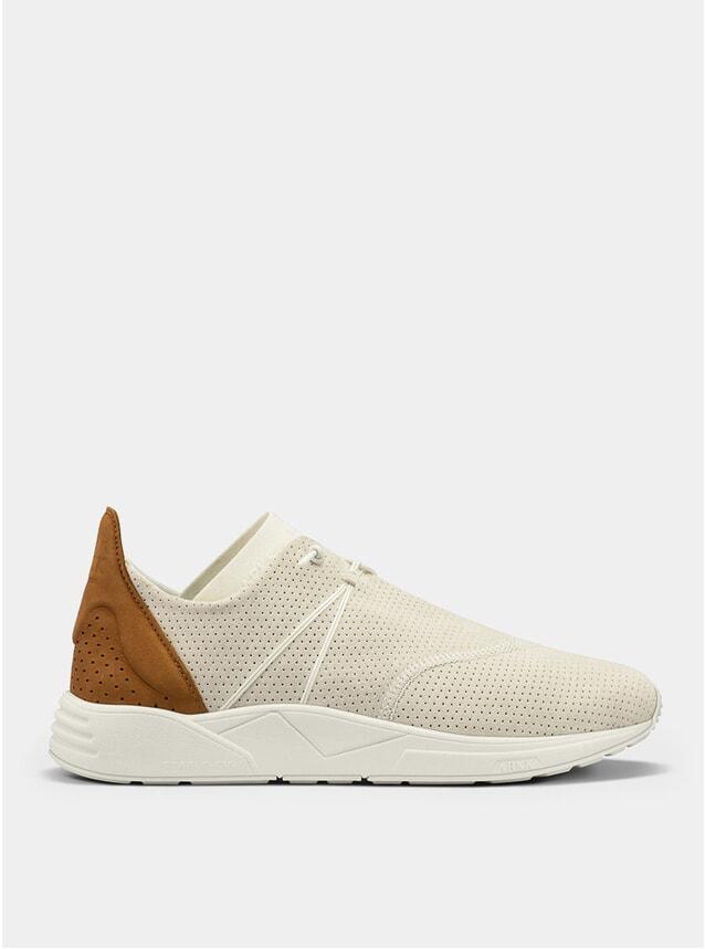 Off White / Brown Eaglezero Suede S-E15 Sneakers