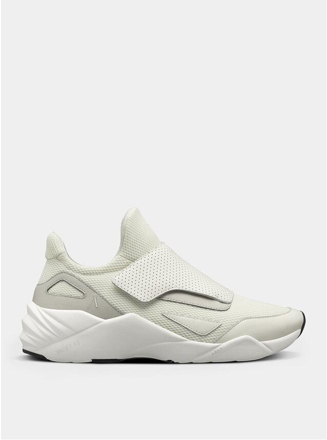 Off White / Silver Grey Apextron Mesh W13 Sneakers