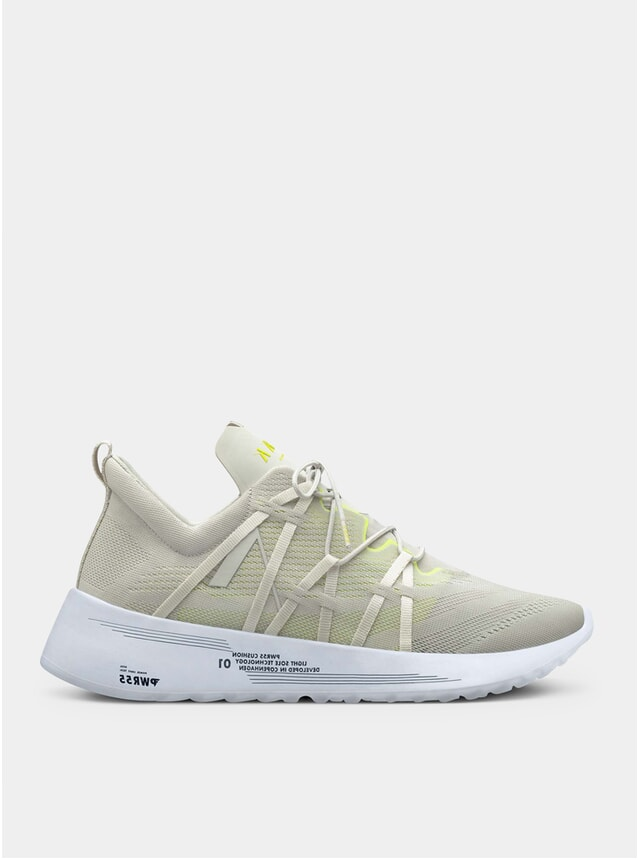 Wind Grey / Bright Lemon Velicate Cm Pwr55 Sneakers