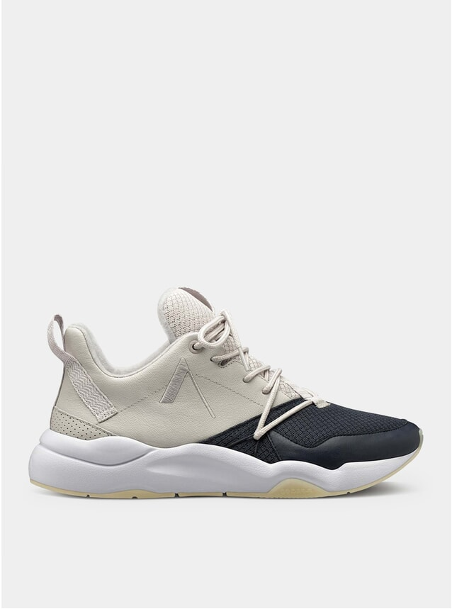 Wind Grey / Ombre Blue / Ivory Gum Mesh F-Pro90 Sneakers