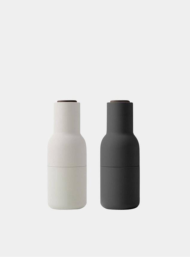 Ash / Carbon Bottle Grinder 2 Pack