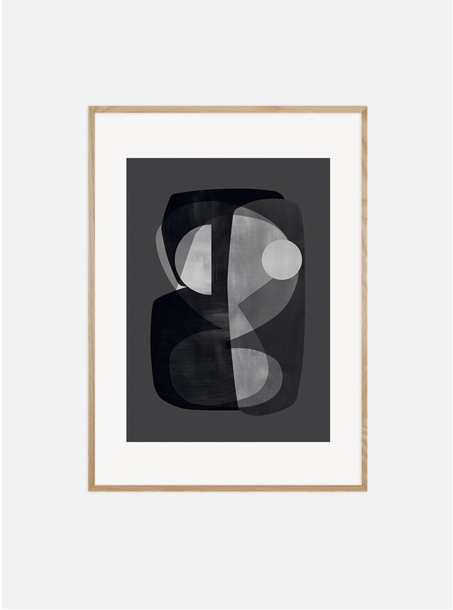 Abstract Construction Print