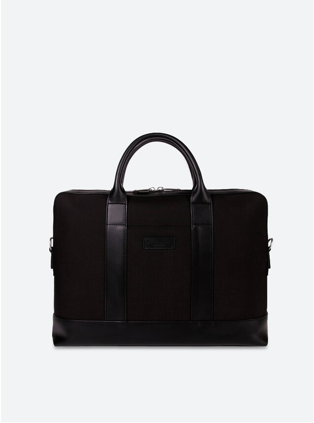 Cordura Black / Black Montorgueil Briefcase
