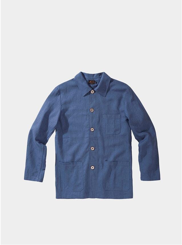 Mirage Blue Worker Coat