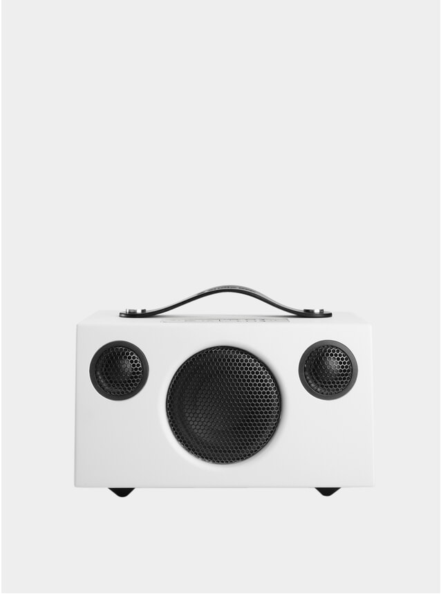 White Addon C3 Bluetooth Speaker