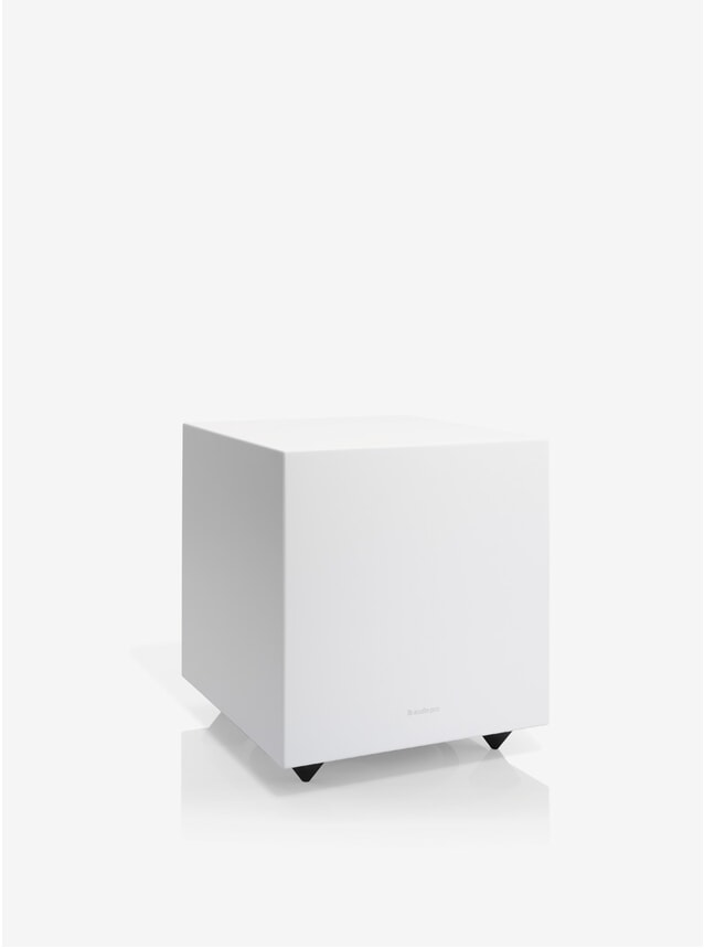 White Addon Sub Powered Subwoofer