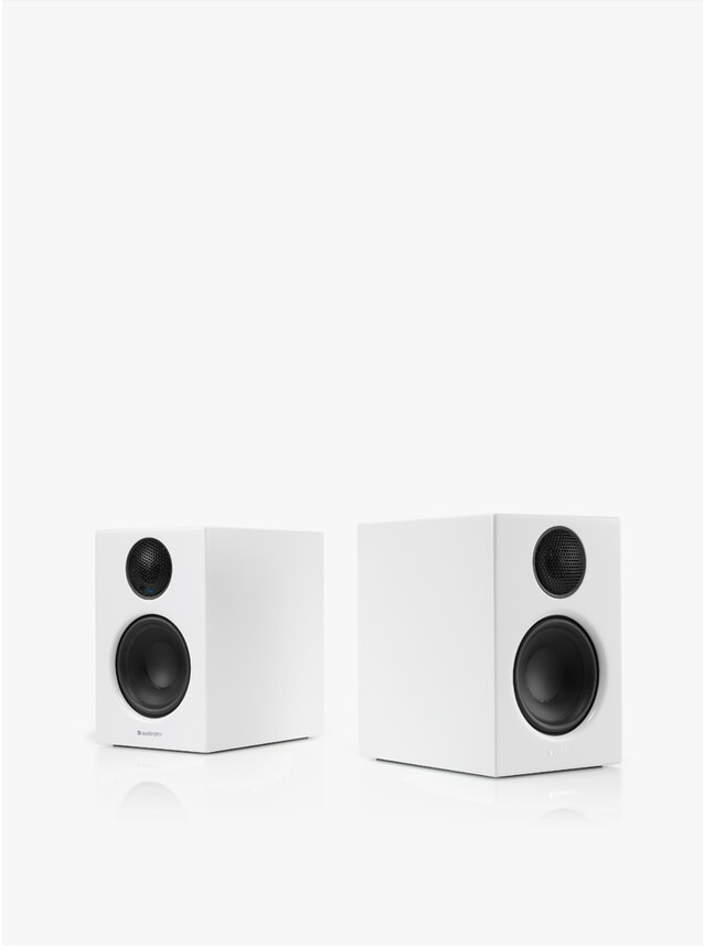 White Addon T14 Wireless Speakers