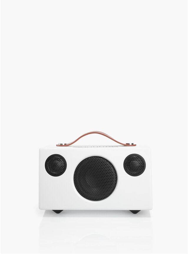 White Addon T3 Portable Speaker