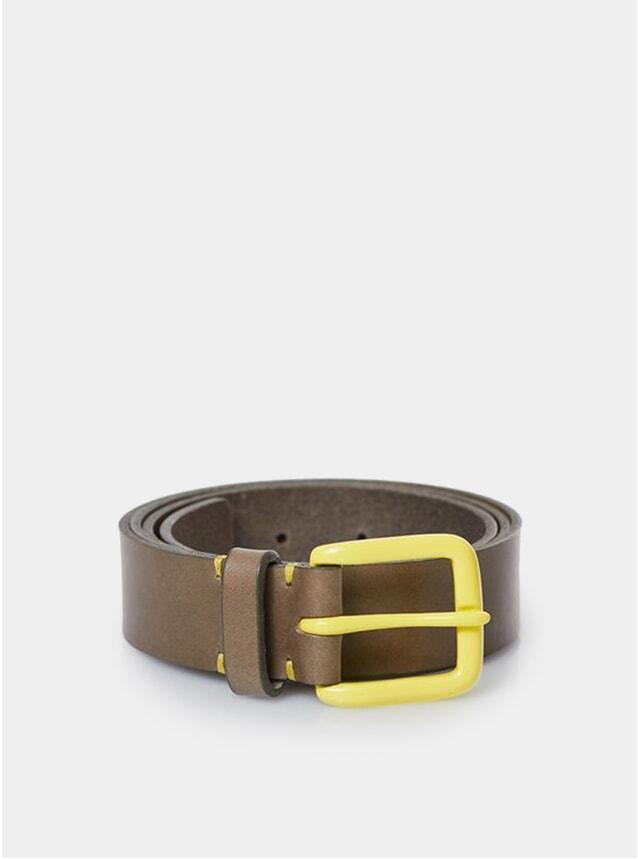 Form Grey / Citron Modernist Belt