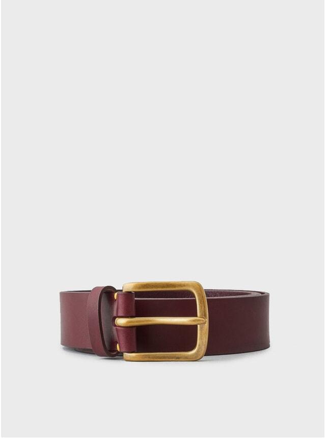 Oxblood / Brass Buckle Original Belt