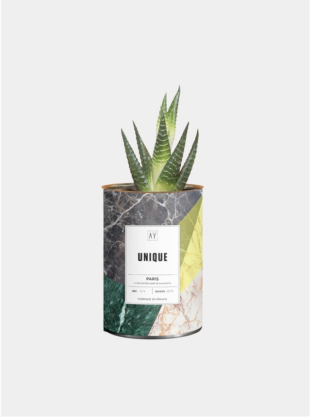 Unique Marble Greasy Plant Pot