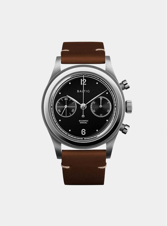 Black Silver / Lion Bicompax 001 Watch