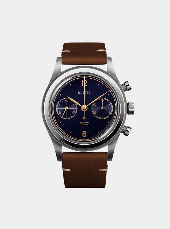 Blue Gilt / Lion Bicompax 001 Watch