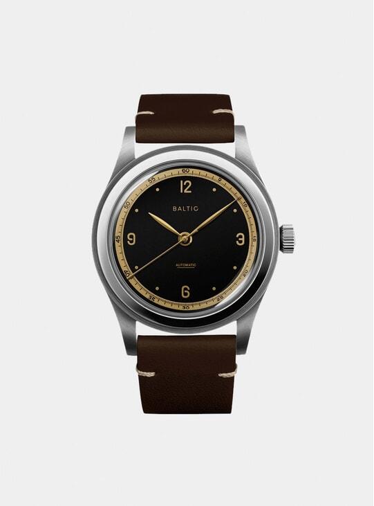 Black Gilt / Tobacco HMS 001 Watch