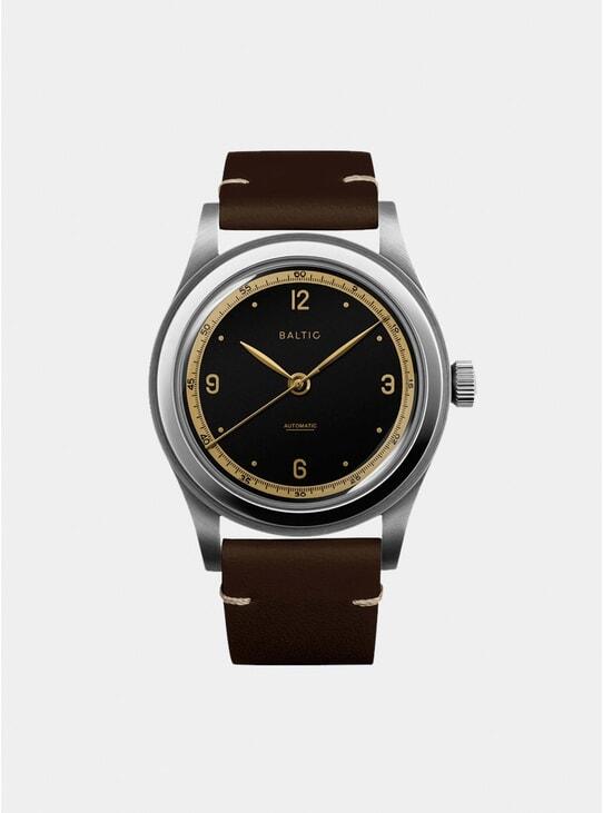 Tobacco / Black Gilt HMS 001 Watch