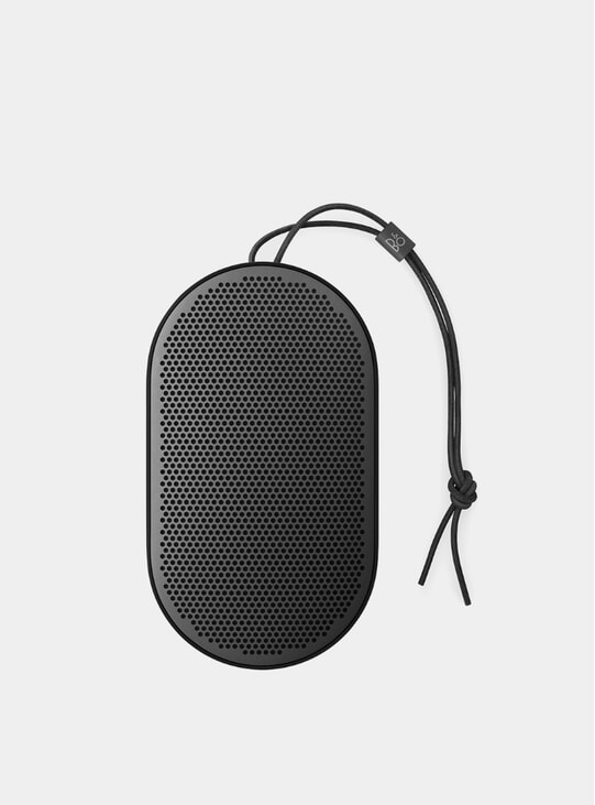 Black Beoplay P2 Portable Speaker
